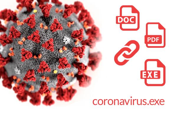 coronavirus malware protezione cybersecurity certificata