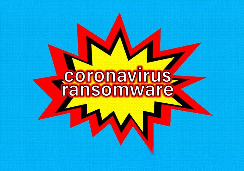 corona virus ransomware covidlock