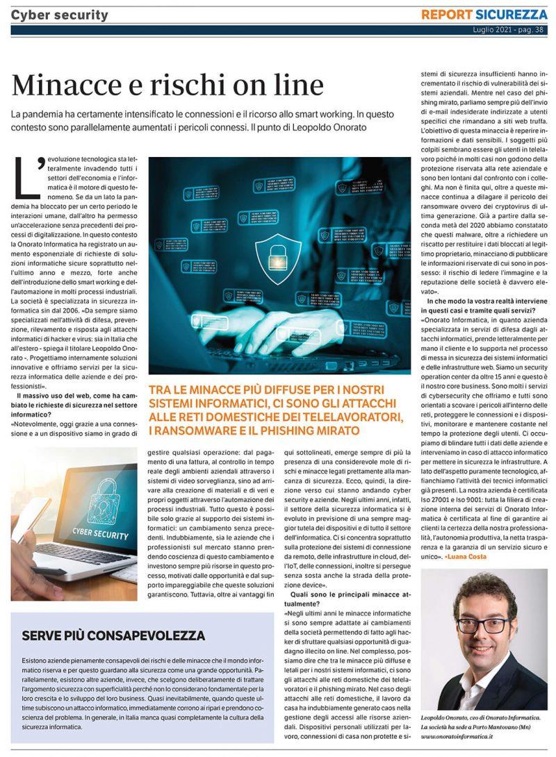 Intervista Leopoldo Onorato - Golfarelli Editore
