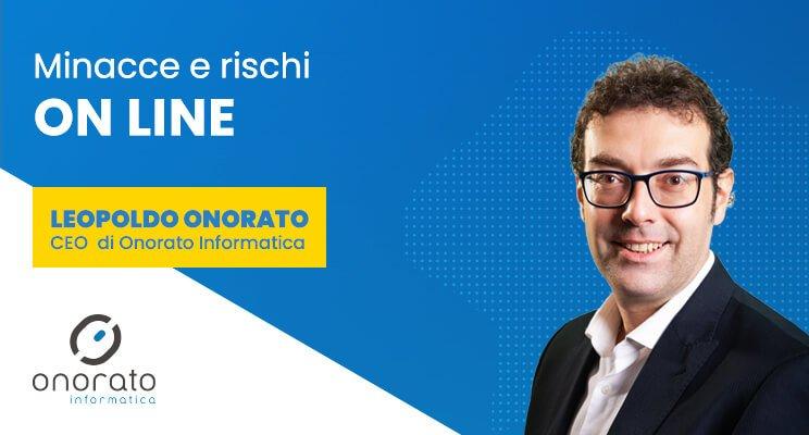Minacce online Leopoldo Onorato