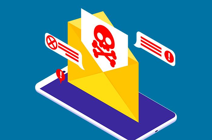 SMS truffa il tuo pacco è stato trattenuto
